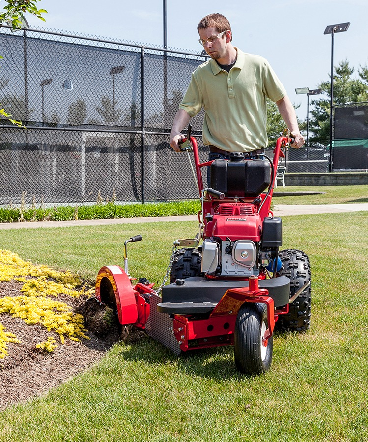 Commercial Grade Walking Forward Edger Turf Teq