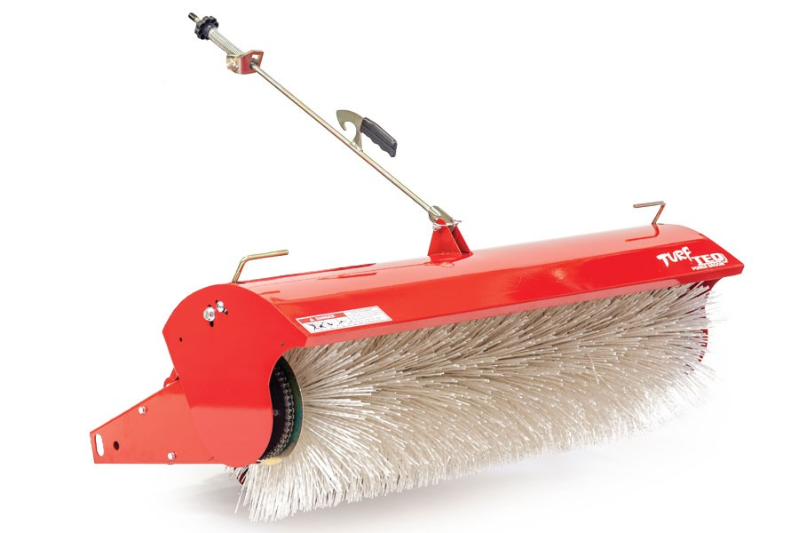 Power Broom Professional Grounds Care Equipment Turf Teq