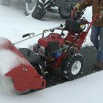 Turf Teq Power Broom Snow Removal