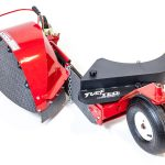 TURF TEQ Power Edger with Bed Opening Blade Attachment is Compatible with Any Multi-Use Machine